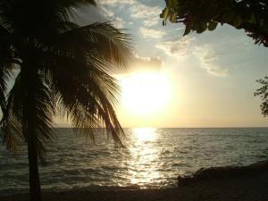 Haitian sunset