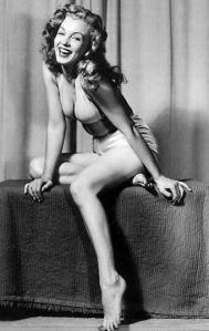 Marilyn bathing suit
